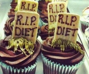food, cupcake, and diet image