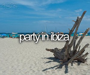 party, ibiza, and before i die image