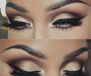 eye, beautyful, and inspiration image