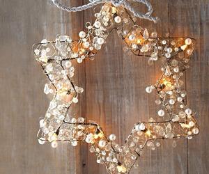 christmas, light, and star image