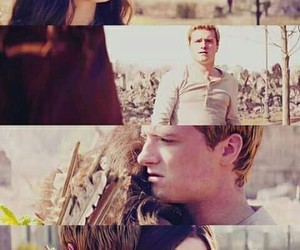 peeta mellark, Jennifer Lawrence, and the hunger games image