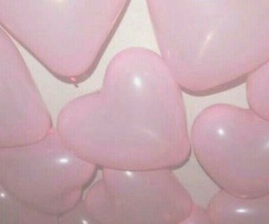 air, baloon, and pink image
