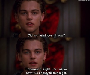 love, leonardo dicaprio, and romeo and juliet image