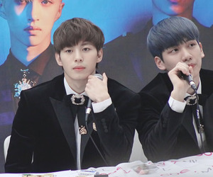 vixx, sanghyuk, and han sanghyuk image