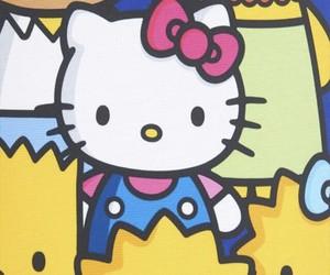 bart, cartoon, and hello kitty image