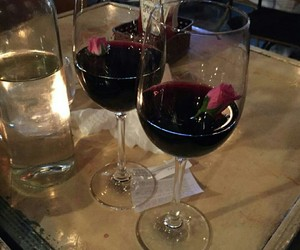wine, red, and aesthetic image