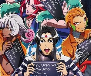 yamato, kiji, and nanbaka image