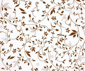 brown, leaves, and patterns image
