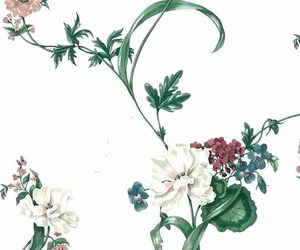 flowers, vintage, and patterns image