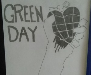 green day, Logo, and american idiot image
