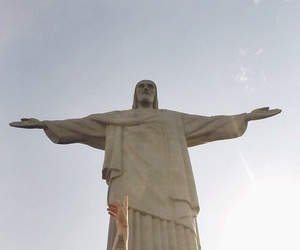 travel, brazil, and jesus image