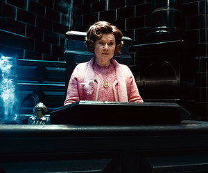 dolores umbridge and harry potter image
