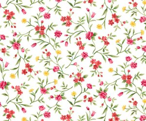 flowers, loveyou, and patterns image