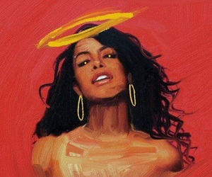 aaliyah and art image