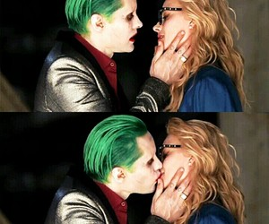 DC, green, and harleen quinzel image