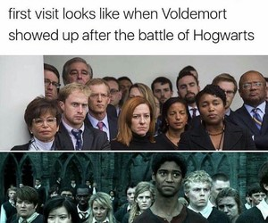 harry potter, funny, and trump image