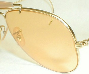 glasses and yellow image