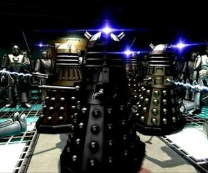 cybermen, Dalek, and doctor who image