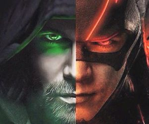 series, arrow, and DC image