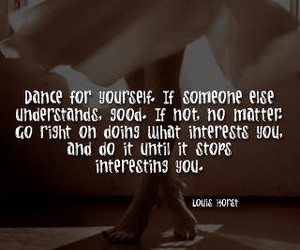 dance, text, and believe in yourself image