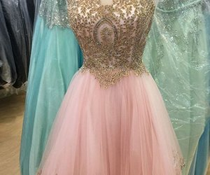 homecoming dress and homecoming dresses pink image