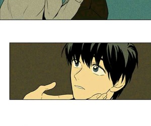 manhwa, cheese in the trap, and webtoon image