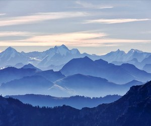 mountains and blue image