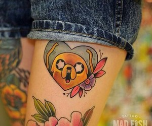 tattoo and adventure time image