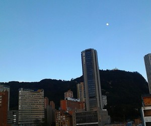 blue, bogota, and city image