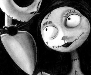 jack, sally, and tim burton image
