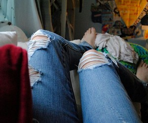 jeans, photography, and pants image