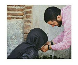 beauty, lovers, and hijab style image