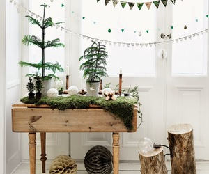 christmas, green, and decor image