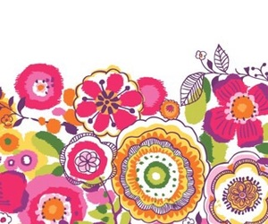 floral, patterns, and flowers image