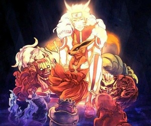 beasts, naruto, and friends image