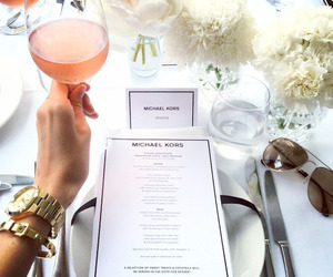 Michael Kors, luxury, and drink image