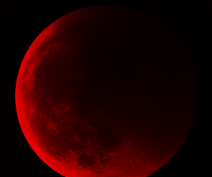 black and red, earth, and universe image