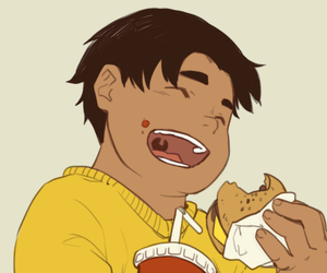 hunk, tumblr, and Voltron image