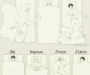 bts, jimin, and jin image