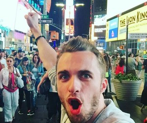 new york, youtube, and squeezie image
