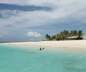 beach, beautiful, and Island image