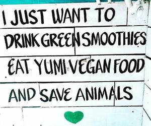 quote, vegan, and happiness image
