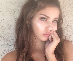 beautiful, brunette, and everything image