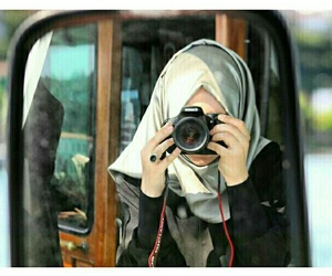 beauty, girls, and hijab image