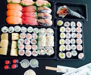 fish and sushi image