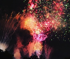 fireworks and summer image