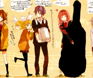 instruments, vocaloid, and double bass image