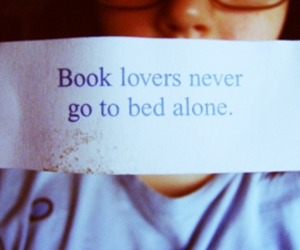 book, alone, and quote image