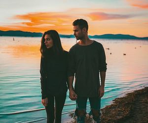 adventure, body, and couple image