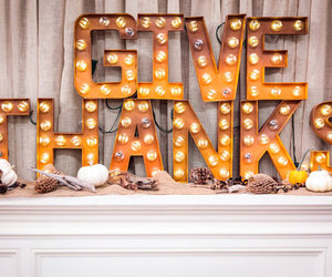 decor, thanks, and thanksgiving image